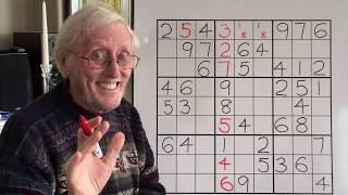 Sudoku Tutorial #61 The triangle within a sudoku block.