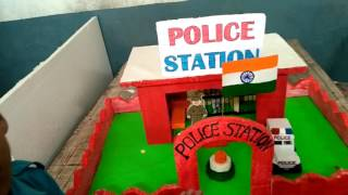 Police station model for kids