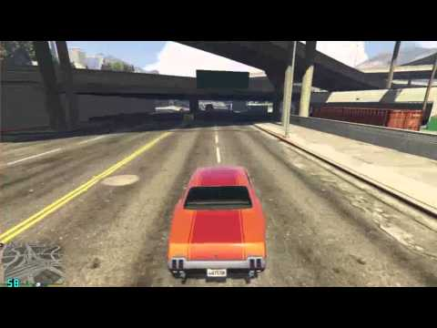GTA V on GTX460 768MB (with FPS counter)