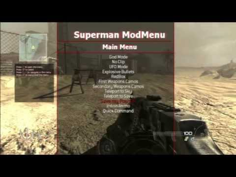 Superman SPRX Mod Menu [MW2/1.14]