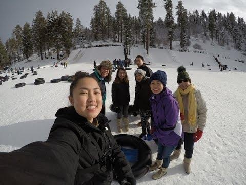 VLOG 7| SNOW TUBING in Running Springs, CA
