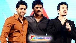 Nagarjuna Open Talk about Naga Chaitanya and Akhil Love!