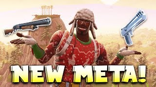 Why The Pump + Deagle Is The BEST Meta Right Now - Fortnite Battle Royale