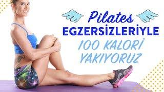 Pilates Topuyla 100 Kalori Yakıyoruz