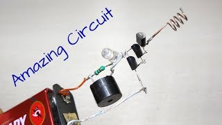 Amazing Voltage Detector, Non contact tester, Electronic project