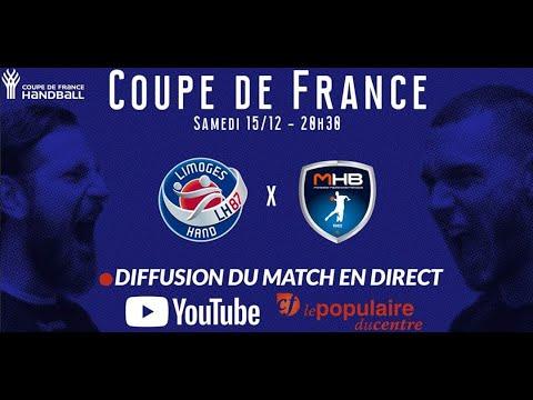 Coupe de France de Handball : Limoges vs Montpellier