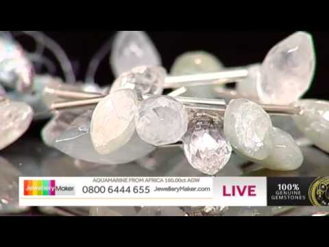 Feathers and Lace for Jewellery Making - JewelleryMaker LIVE (AM) 01/08/2014
