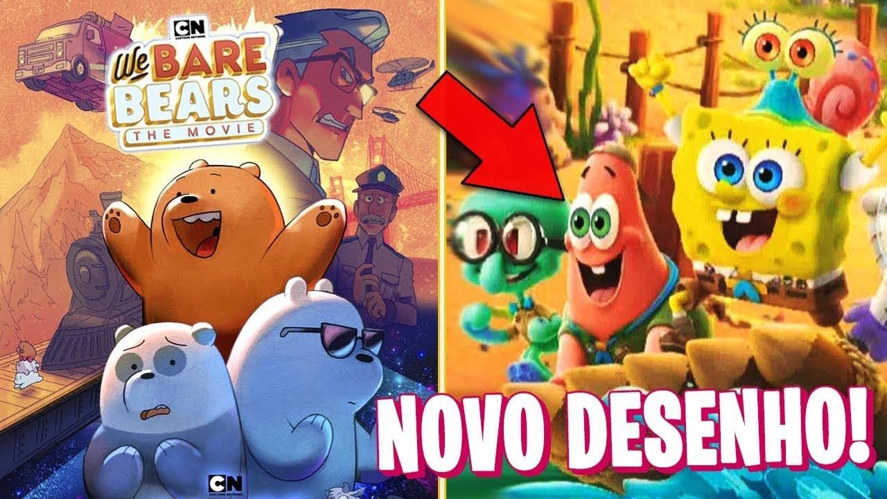 NOVO BOB ESPONJA EM 3D!! Ursos sem Cursos O FILME | Notícias Animadas