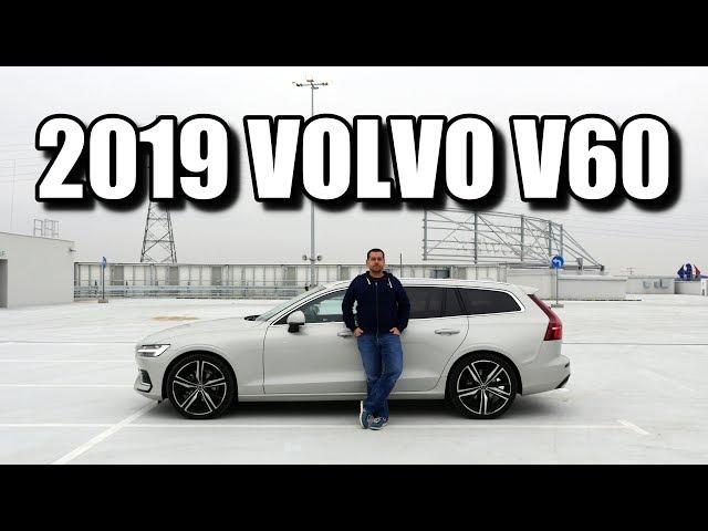 Volvo V60 2019 - mniejsze szwedzkie kombi (PL) - test i jazda próbna