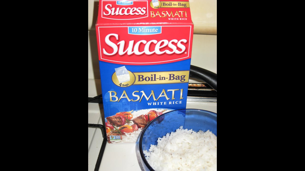 Product Review 10 Minute Success Boil In Bag Basmati White Rice Non