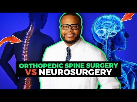 Orthopedic Spine Surgery Vs Neurosurgery | Why I Chose Spine Surgery