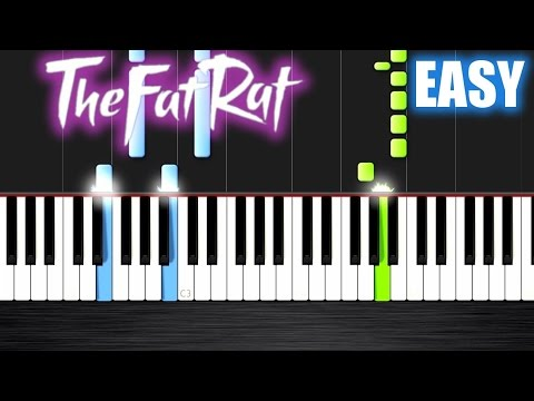 TheFatRat - Unity - EASY Piano Tutorial By PlutaX