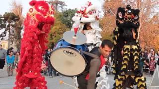 Dialogo cultural entre Chile y China. Danza del León