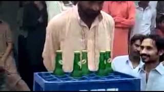 talent of pakistan 5 bottle in 1 minute