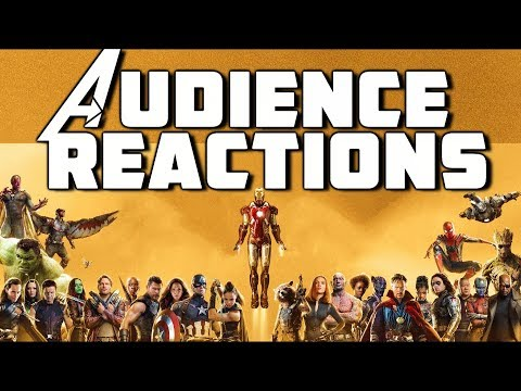 Phase 3 Marvel Studios Avengers Marathon Audience Reactions ( Infinity War Included )