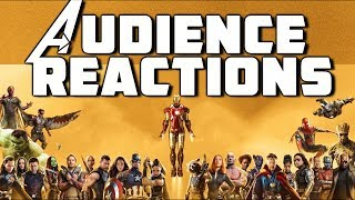 Part 3 Marvel Studios Avengers Marathon ( Infinity War Included ) Audience Reactions