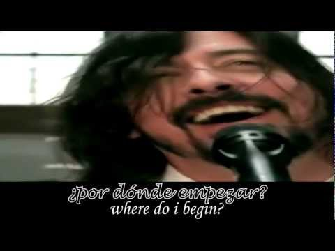 Foo Foo Fighters Walk subtitulado Español Ingles