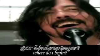 Foo Foo Fighters Walk subtitulado Español Ingles