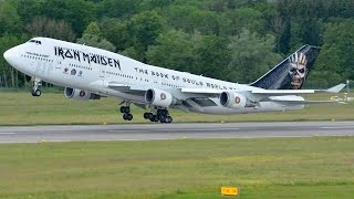 Video Iron Maiden's Jumbo Ed Force One (push back, taxiing and take off) at Zürich-Kloten download MP3, 3GP, MP4, WEBM, AVI, FLV Juni 2018