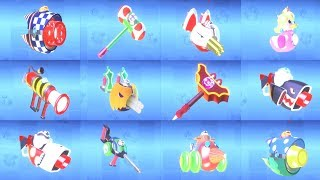 Mario + Rabbids Kingdom Battle - All Weapons