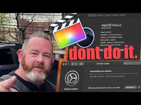 Don't Upgrade Your Mac To Catalina | FCPX 10.4.7