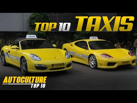 Top 10 Awesome Taxis From Around The World | Autoculture Top