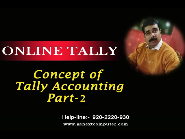 Concept Of Accounting Part 2