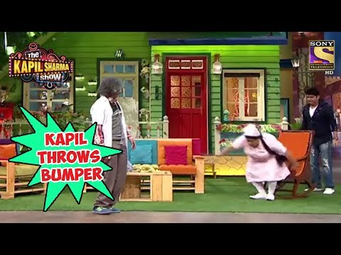 Kapil Throws Bumper Towards Gulati – The Kapil Sharma Show
