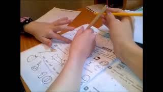 Влог:Step#2-3 В рабочей тетради выполняем домашнюю работу по английскому языку