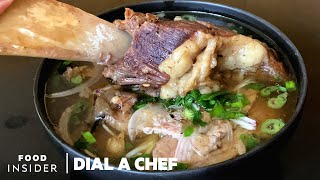 How to Make Brisket and Short Rib Pho in 24 Hours with Chef Jimmy Ly | Dial A Chef