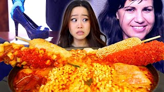 Download The Stiletto Killer | Stabbed Them With Christian Louboutin (Red Bottoms) | Korean Army Stew Mukbang