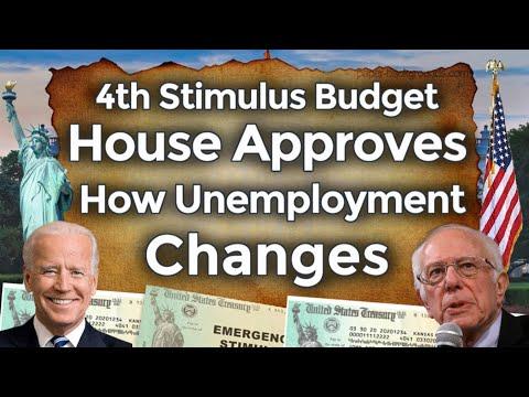 House Approves 4th Stimulus Budget! How Unemployment Benefits Changes? Fourth UPDATE PUA PEUC EDD