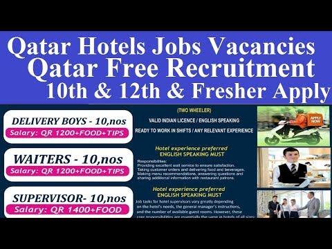 Qatar Hotels Jobs Vacancies L Qatar Hotels Jobs Salary L Hotel Jobs In Qatar L Fresher Jobs Qatar