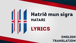 Iceland Eurovision 2019: Hatrið mun sigra - Hatari [Lyrics] Inc. English translation! 🇮🇸