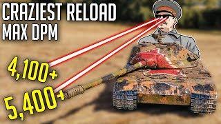 CRAZY Reload on Best DPM Medium Tank!   World of Tanks K-91 Gameplay