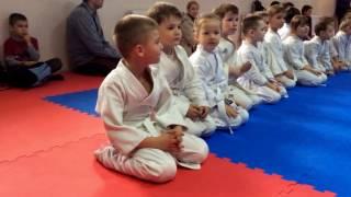Детские соревнования. Первое соревнование по айкидо