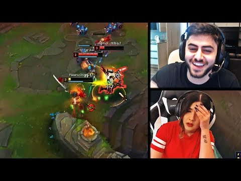 YASSUO REACTS TO NUMBER 1 PLAYER IN KOREA AND BOOSTING HIM | 1V2 YASSUO | YOURPRINCESS | LOL MOMENTS