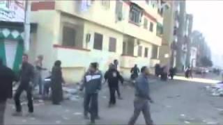 اطلاق النار على سجن بورسعيد بالأسلحة الآليه
