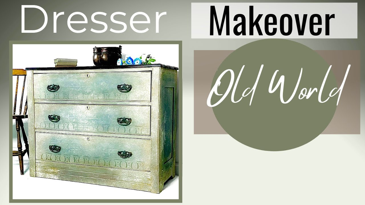 Chalk Paint Furniture with Layers for an Aged Effect