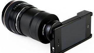 Оптические объективы для iPhone 4S. 9 и 6 кратные.(, 2015-04-01T21:18:25.000Z)