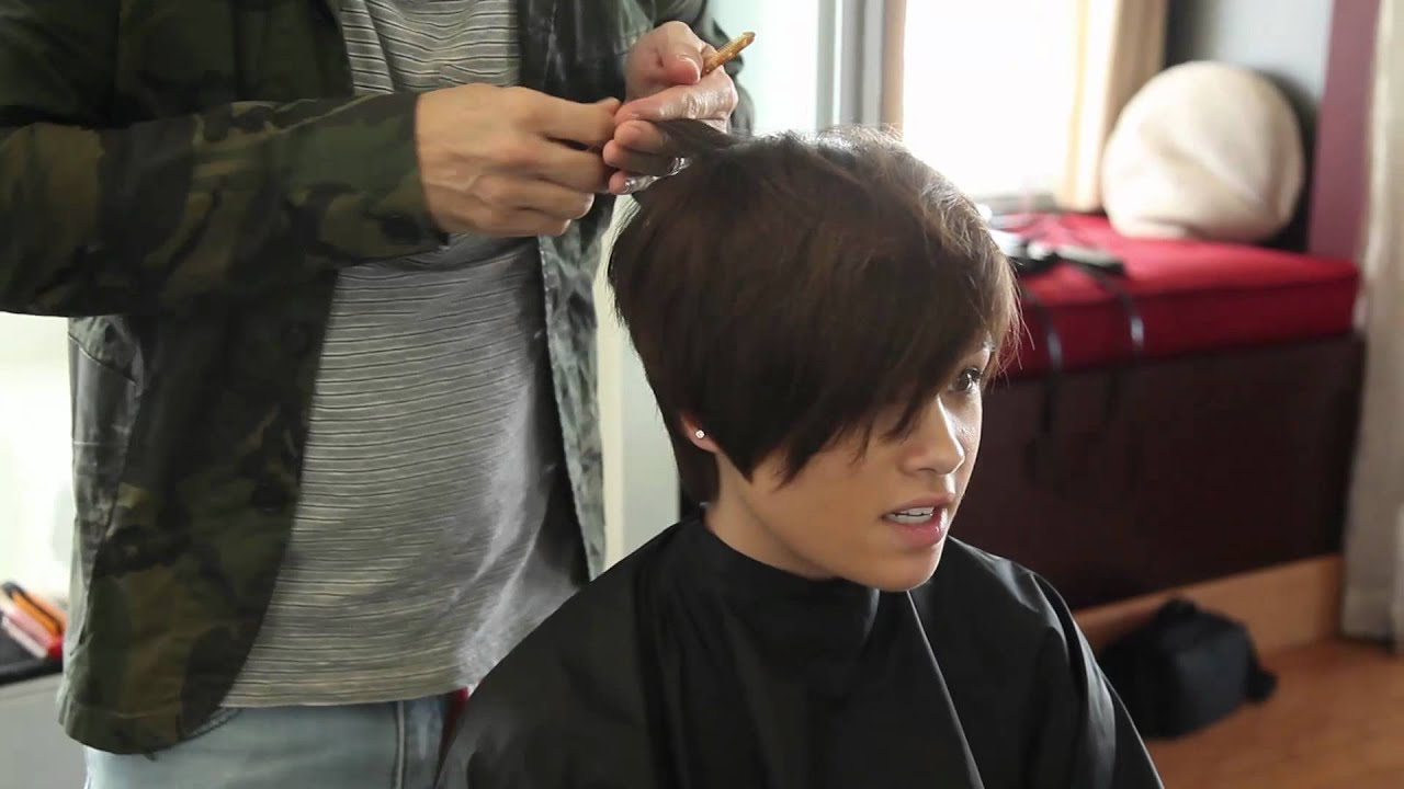 Bob haircut short to long