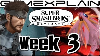 Super Smash Bros. Ultimate Update: New Pokémon, Snake, DK, Corrin, & Not All Stages?! (Week 3)