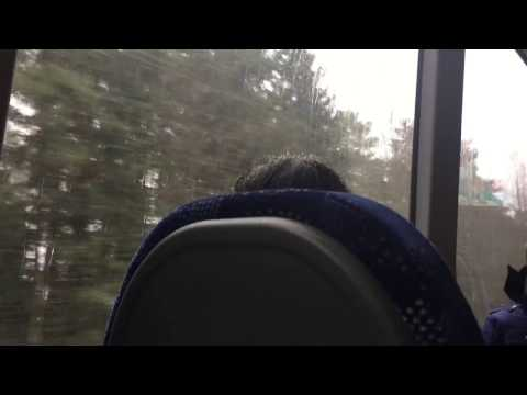Tampere travel in a bus! If you want to study in Finland do watch this!