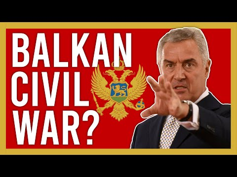 Chaos in Montenegro - On the verge of a civil war