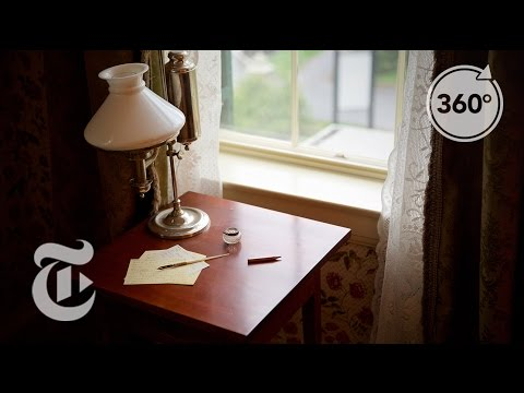 Alone At Emily Dickinson's Desk | The Daily 360 | The New York Times