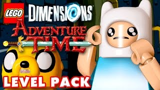 ADVENTURE TIME Level Pack! - LEGO Dimensions - Gameplay Walkthrough Part 28 (PS4, Year 2)