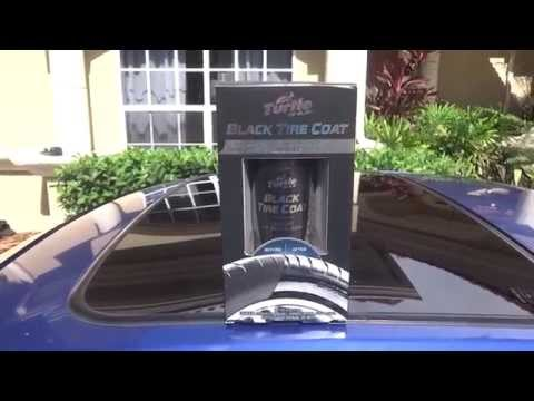 Turtle Wax Black Tire Coat Review And Test Results On My 2001 Honda Prelude