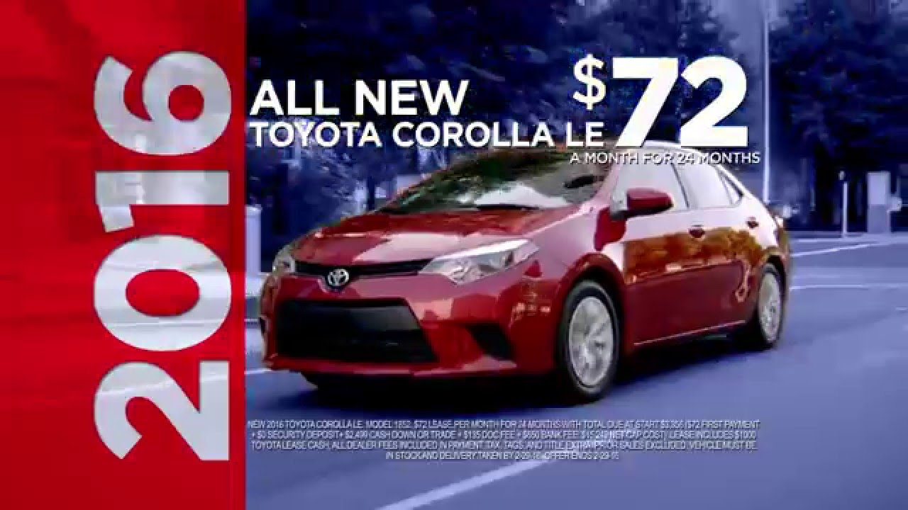 $72/month Corolla U0026 $184/month RAV4 AWD At Conicelli Toyota Of Springfield