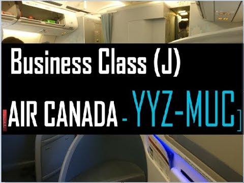 Air Canada Business Class - YYZ-MUC | TRIP REPORT