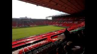 DEIA visita Old Trafford. El estadio